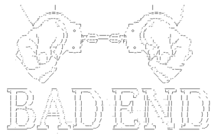 """Bad End"" (バッドエンド)"